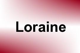 Loraine name image