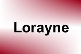 Lorayne name image