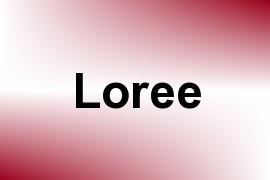 Loree name image