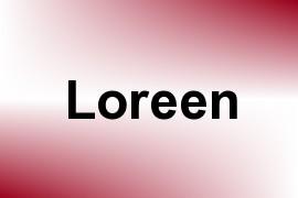 Loreen name image