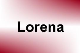Lorena name image