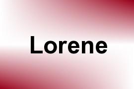 Lorene name image