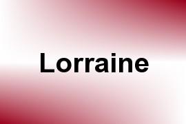 Lorraine name image