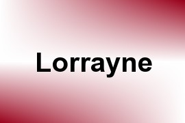Lorrayne name image