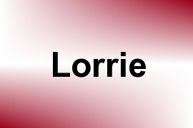 Lorrie name image