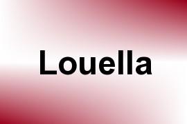 Louella name image