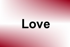 Love name image