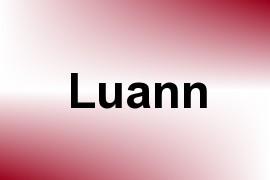 Luann name image