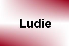 Ludie name image