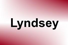 Lyndsey name image