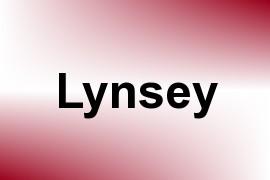 Lynsey name image