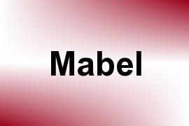 Mabel name image