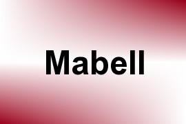 Mabell name image