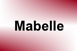 Mabelle name image