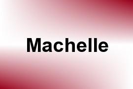 Machelle name image