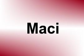 Maci name image