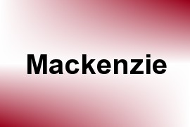 Mackenzie name image