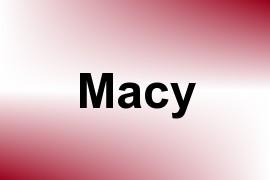 Macy name image