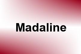 Madaline name image