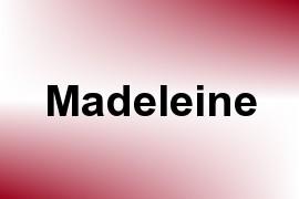 Madeleine name image