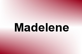 Madelene name image