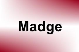 Madge name image