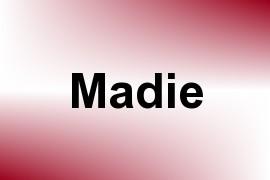Madie name image