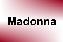 Madonna name image