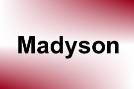 Madyson name image