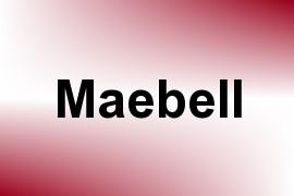 Maebell name image