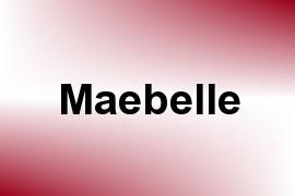 Maebelle name image