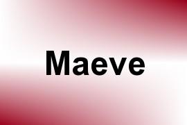 Maeve name image
