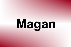 Magan name image