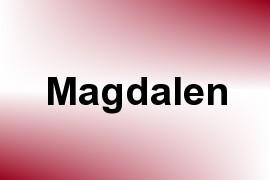 Magdalen name image