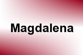 Magdalena name image