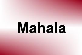 Mahala name image