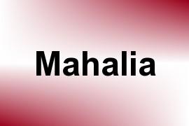 Mahalia name image