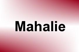 Mahalie name image