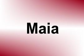 Maia name image