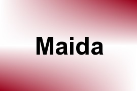 Maida name image