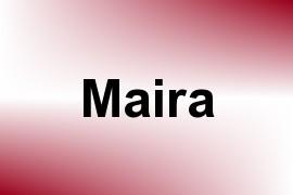 Maira name image