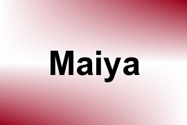 Maiya name image