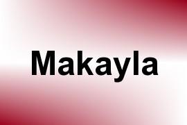 Makayla name image
