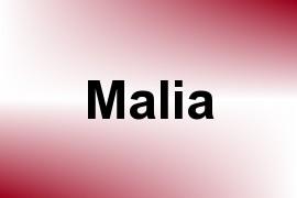 Malia name image