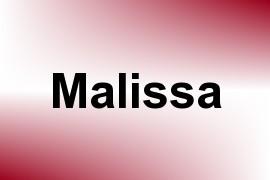 Malissa name image