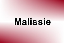 Malissie name image