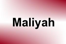Maliyah name image