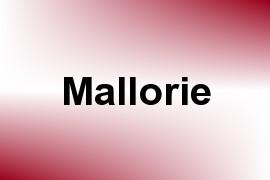 Mallorie name image