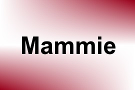 Mammie name image