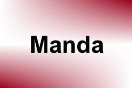 Manda name image